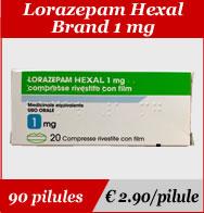 Lorazepam Hexal 1mg